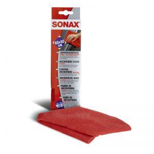 416200 SONAX Krpa od mikrovlakana za lak-Crvena