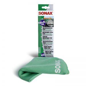 416500 SONAX Krpa od mikrovlakana za unutrasnjost-Zelena